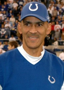 Tony Dungy became the first African-American head coach to win a Super Bowl.