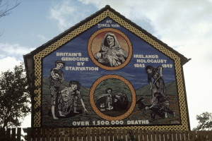 """While not universally considered a genocide, the potato famine in Ireland is seen by some as such. (<a href=""""http://en.wikipedia.org/wiki/Great_Famine_(Ireland)#/media/File:An_gorta_Mor.jpg"""">Source</a>)"""
