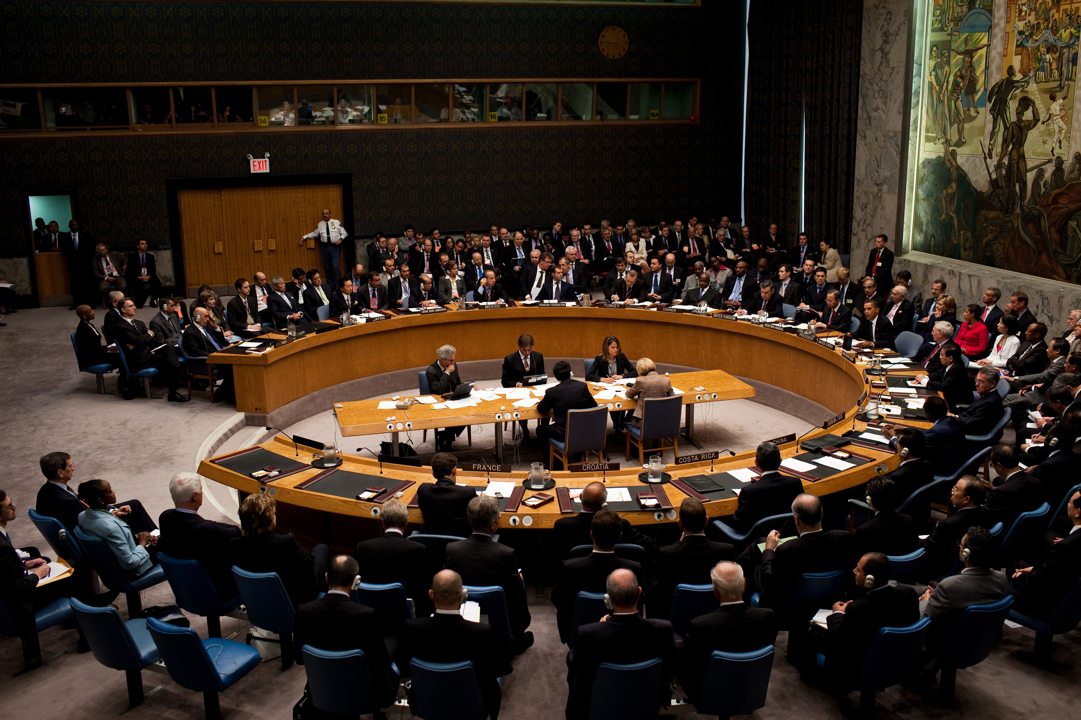 The United Nations Security Council. (Source)