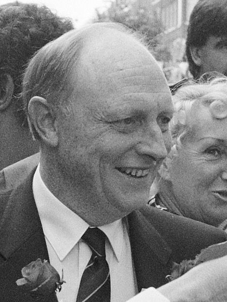 Neil Kinnock, Labour Leader in 1992. (Source)