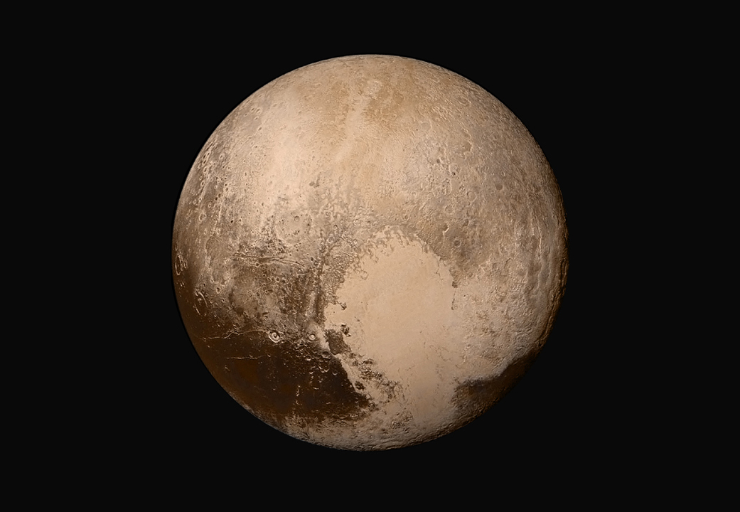 Pluto as captured recently by New Horizons. Photo from NASA. (Source)